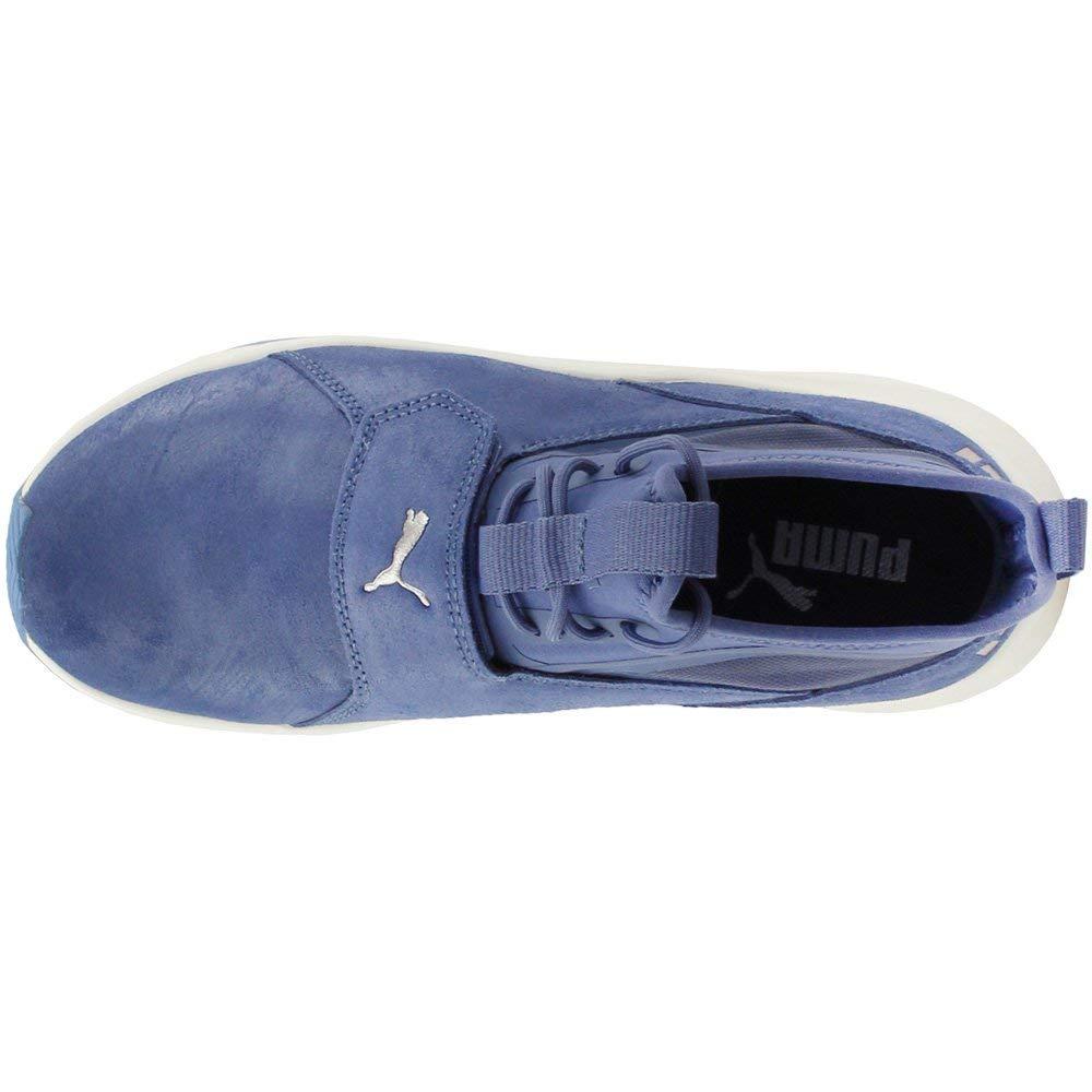 PUMA Woherren Phenom Weiß Shimmer Blau Indigo Whisper Weiß Phenom 7 B US eb3355