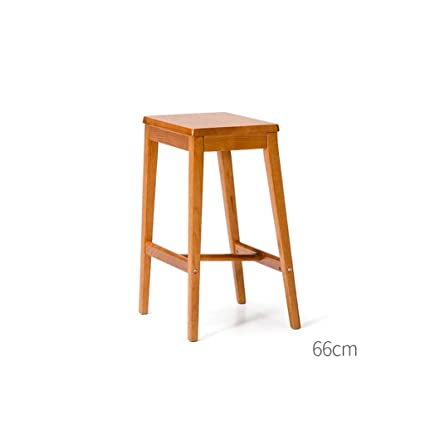 Awesome Amazon Com Kxbymx Solid Wood Bar Stool Retro Party Wooden Gmtry Best Dining Table And Chair Ideas Images Gmtryco