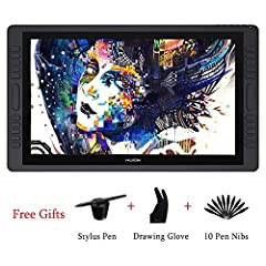 Huion Kamvas GT-221 PRO is a IPS pen display with 21.5 inches full HD screen. It is more stable and fluent and has enhanced performance. You can directly work on the screen intuitively and directly when connnected to your PC and do sketching,...