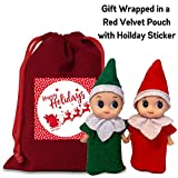 Elf Baby Twins- Two Little Christmas Elves, an Elf