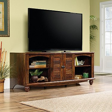 Sauder 420472 Harbor View Entertainment Credenza, For TV's up to 60