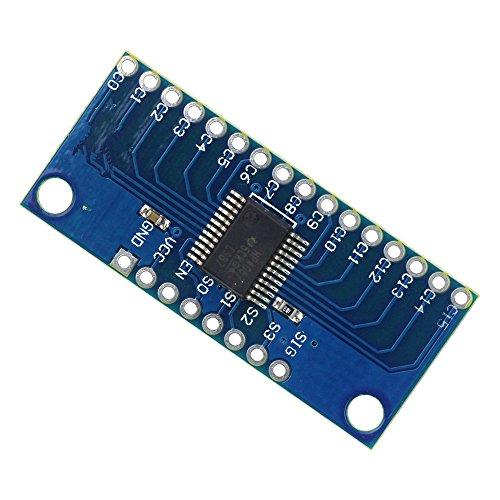 (Leyal Smart Electronics CD74HC4067 16-Channel Analog Digital Multiplexer Breakout Board Module for arduino Diy Kit)