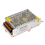 YaeTek 12V DC Switch Power Supply Driver for LED Light , Input: AC110V/220V (12V 8.3A 100W)