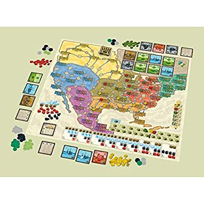 Rio Grande Games Power Grid Deluxe: Toys & Games