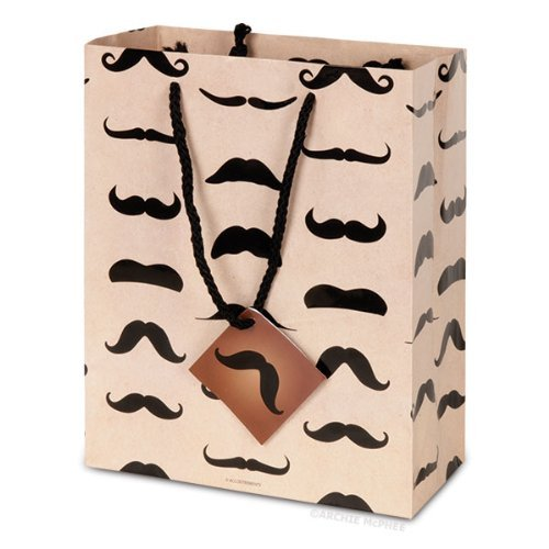 Accoutrements 12347 Mustache Gift Bag