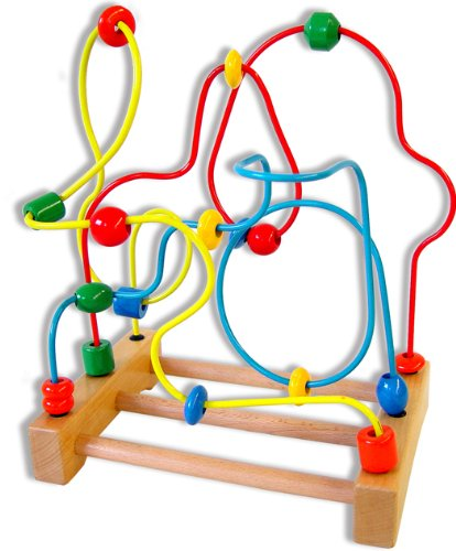 Andreu Toys 21 x 29 x 345 cm Big Wire Labyrinth Multi Colour