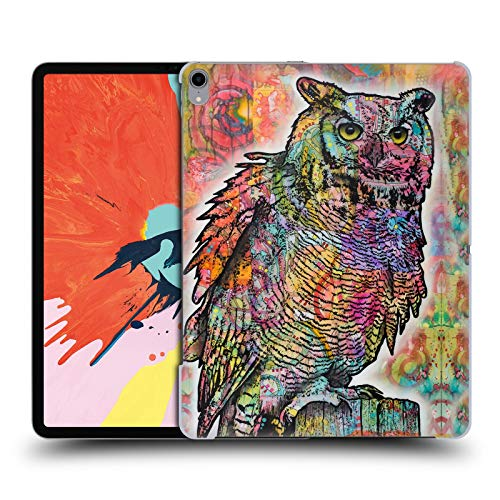 - Official Dean Russo Owl Perch Wildlife 2 Hard Back Case Compatible for iPad Pro 12.9 (2018)
