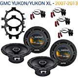 Fits GMC Yukon/Yukon XL 2007-2013 OEM Speaker Upgrade Harmony R5 R65 Package New