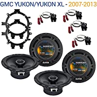 GMC Yukon/Yukon XL 2007-2013 OEM Speaker Upgrade Harmony R5 R65 Package New