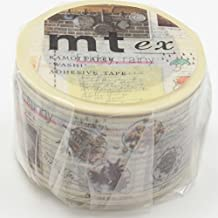 MT Wide Washi Masking Tape Deco, Diary of Gastronome (MTEX1P88)