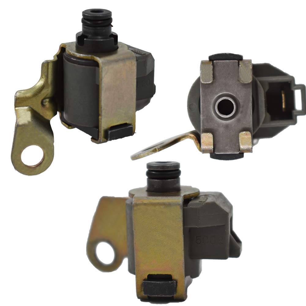 labwork-parts A340 AW4 Trans Solenoid Kit for Jeep Cherokee Truck 3Pcs Shift TCC A340E A340F