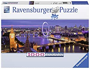 London at Night 1000 Piece Panorama Puzzle