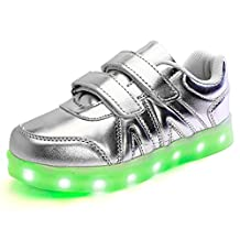 Kids Boy and Girl's Led Sneakers Light Up Flashing Shoes(Toddler/Little Kid/Big Kid)