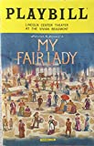 Brand Playbill from My Fair Lady at the Vivian