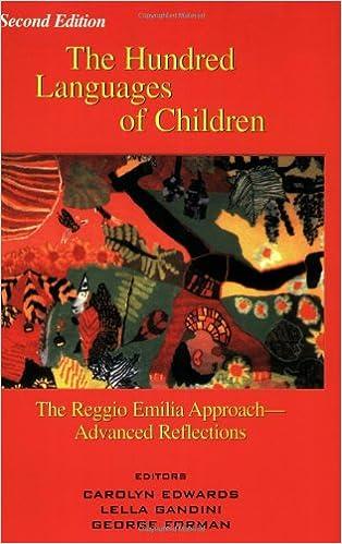 the reggio emilia approach to early