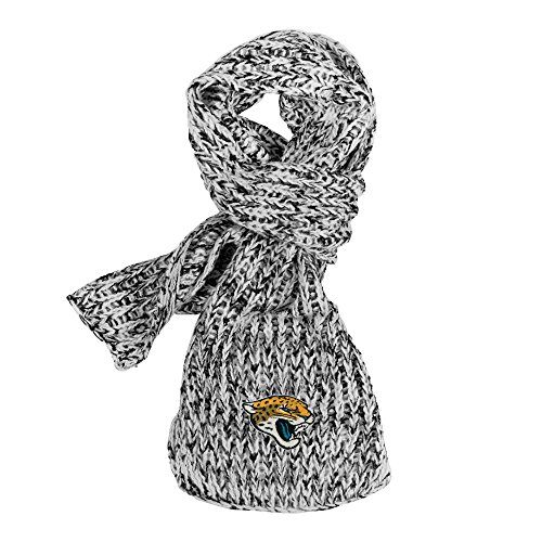 (Littlearth NFL Jacksonville Jaguars Marled Scarf)