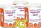 Saforelle Florgynal Probiotic Tampon Regular-with applicator-Mini-Box of 9Mini-Set of 3boxes) by Saforelle