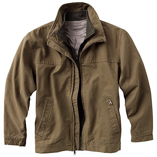 Dri-Duck Adult Maverick Blanket-Lined Quarry-Washed Canvas Jacket. 5028 - Small - Field Khaki