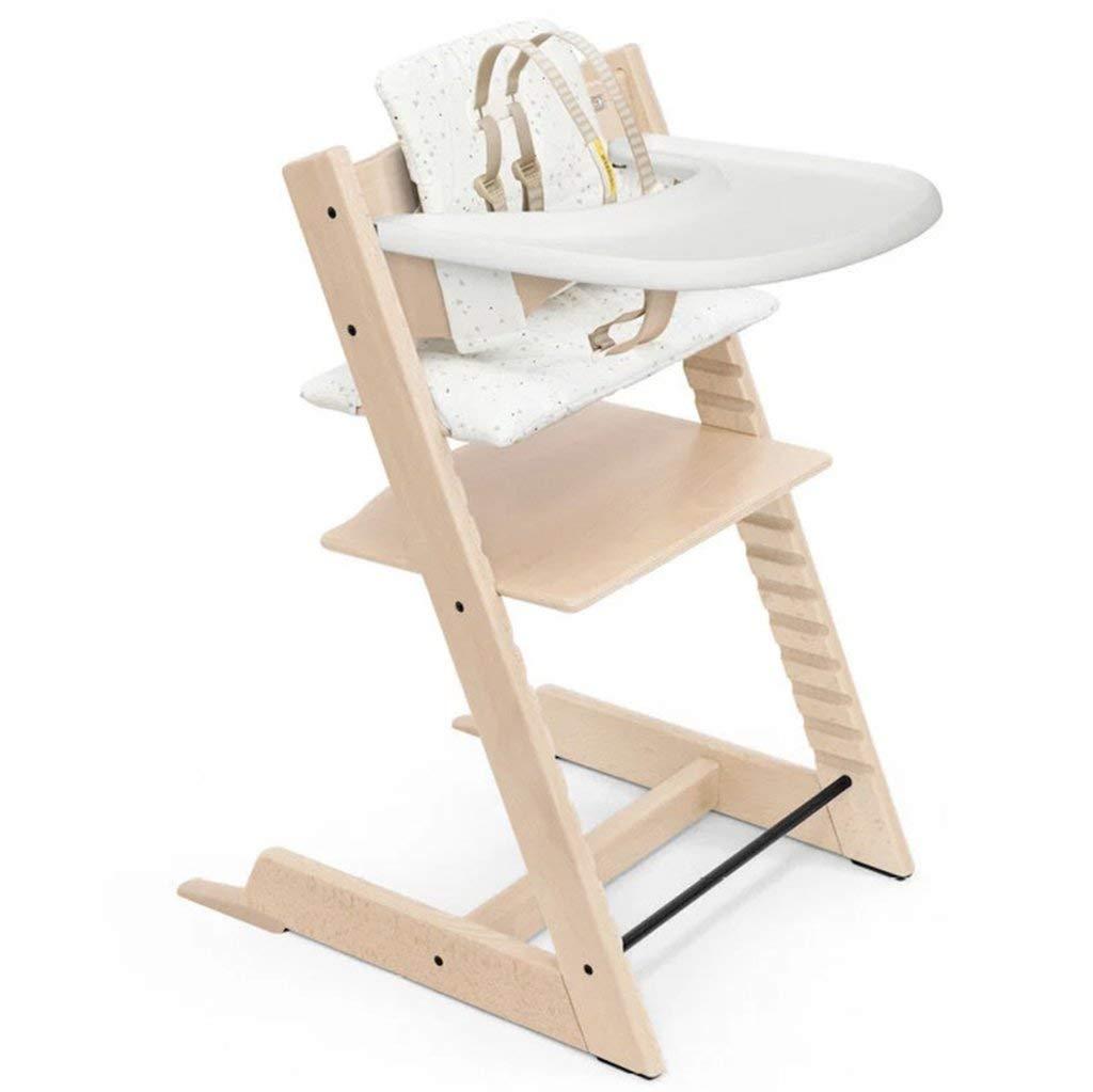 Stokke Beech Wood Adjustable Ergonomic Tripp Trapp High Chair