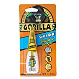 Gorilla 7500101 Super Glue Brush & Nozzle, 10 g, Clear