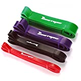 BESTOPE Latex Resistance Bands Exercise Strap Bands Best Loop Power Pull-up Bands for Strength and Weight Training (4 Levels Resistance )