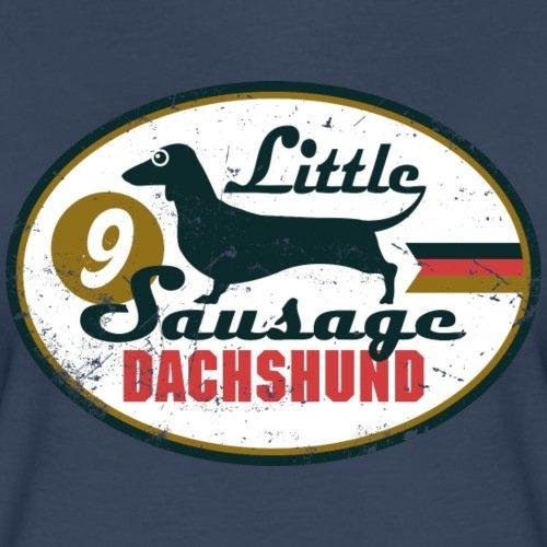 Animal Planet Dackel Little Sausage Dachshund Frauen Oversize T-Shirt von