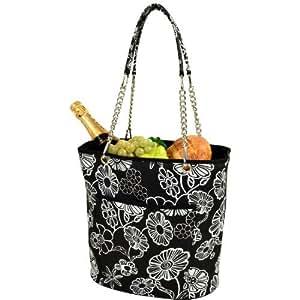 Picnic en Ascot con aislamiento enfriador bolsa con asa de cadena, noche Bloom color: Noche Bloom al aire libre, hogar, jardín, suministro, Mantenimiento