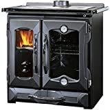 Wood Burning Cook Stove La Nordica 'Mamy Black', Made in Italy