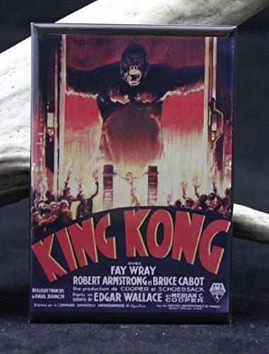 King Kong Refrigerator Magnet. (Godzilla Magnet)