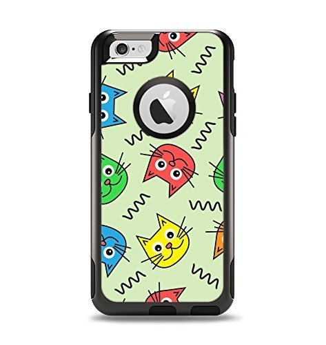 quality design c9347 b00ae Amazon.com: (OtterBox Case & Skin Bundle) The Colorful Cat iCons ...