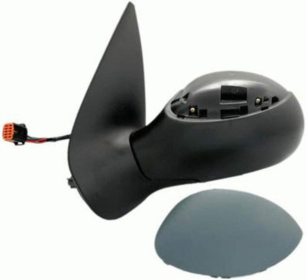 R/étroviseur ext/érieur gauche pour voiture Pro!Carpentis compatible avec 206 CC /à partir de 08//2003 R/étroviseur /électrique r/églable Prise orange