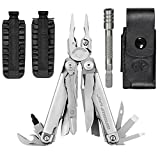 Leatherman Surge Stainless Steel Multi-Tool With Premium Leather Sheath + 42 Bit Kit + Bit Extender
