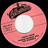 45vinylrecord I Know I Know/I Love You For Sentimental Reason (7
