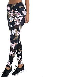 Beiziml Womens Yoga Pants Fitness Leggings Sports Pants Workout Elastic Printing Pants Running Sweatpants Gym Sportswear Leggings