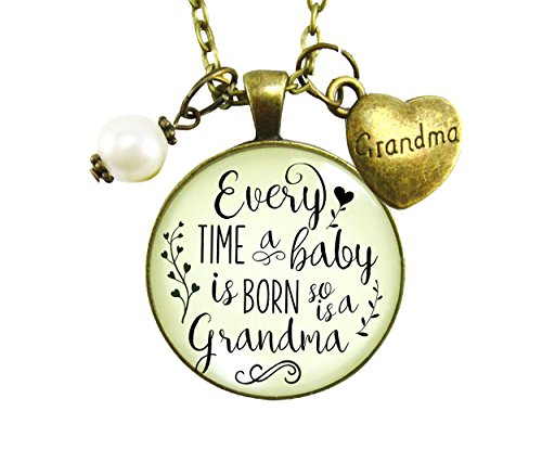 Every Time a Baby Is Born Necklace