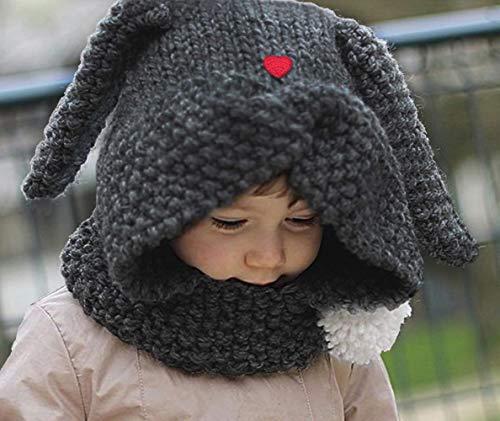 6da241e0ed3 Baby Boys Girls Winter Warm Hat Scarf Knitted Earflap Coif Hood Kids Cute  Beanies Caps for Autumn Winter