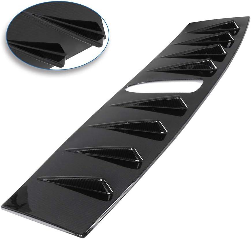 ROADFAR Automotive Exterior Accessories Plastic Rear Window Top Roof Spoiler Splitter for Subaru WRX 4-Door Sedan 2.0L
