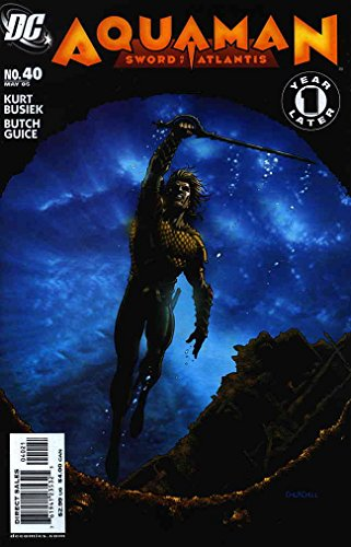 - Aquaman: Sword of Atlantis #40A VF ; DC comic book