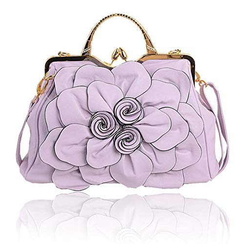 Donna Taglia Da Orange Crossbody Shopping Borse Unica A Lightpurple colore Spalla Dimensione qFaIOT
