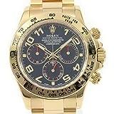 Rolex Cosmograph Daytona 18K Yellow Gold 40mm Green Dial Watch 116508
