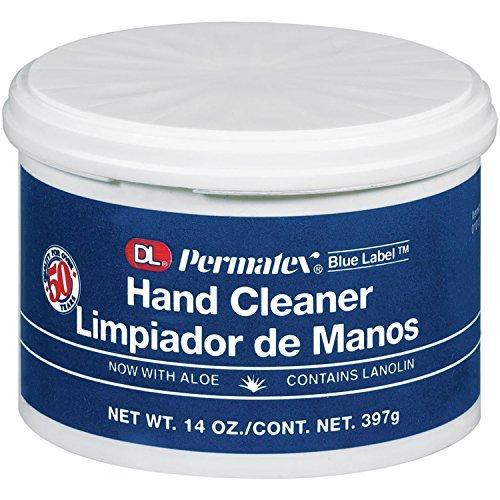 Permatex  01013 DL Blue Label Cream Hand Cleaner, 14 oz. - Dl Blue Cream Label