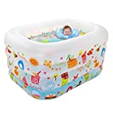 Family Inflatable Pool PVC Baby Swimming Pool,45''X37''X30''