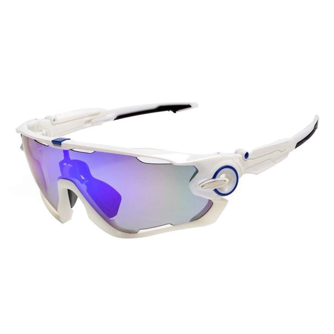 BAOYIT Men and Women Goggles Polarized Sunglasses Outdoor Riding Running Climbing Glasses for Women Men (Color : F) by BAOYIT