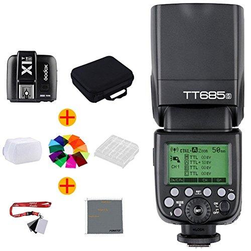 Fomito Godox TT685/S TTLカメラフラッシュ+X1T-S送信機 SonyDSLRシリーズカメラ対応