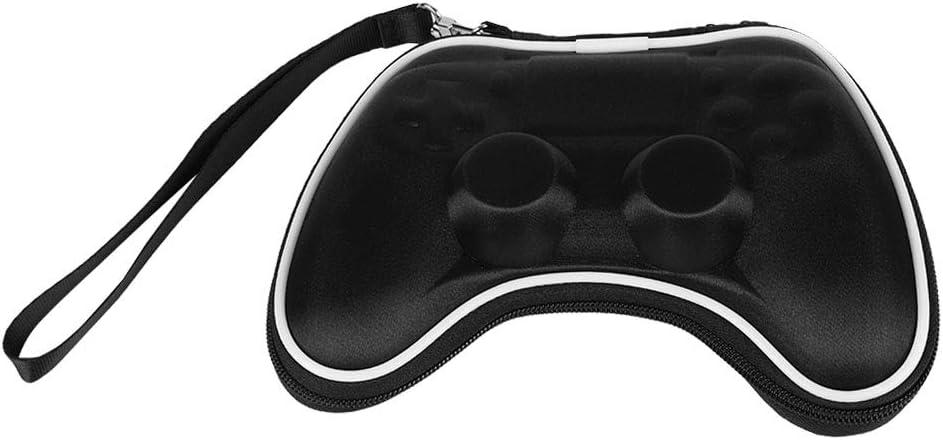 Zerone Estuche portátil para PS4, Estuche portátil de Viaje con Bolsa de Viaje para Playstation 4 Controller Gamepad, Shockproof (Negro)