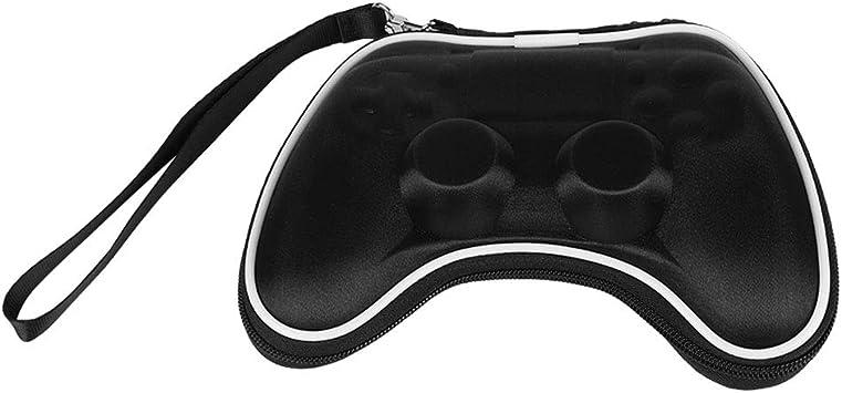 Zerone Estuche portátil para PS4, Estuche portátil de Viaje con Bolsa de Viaje para Playstation 4 Controller Gamepad, Shockproof (Negro): Amazon.es: Electrónica