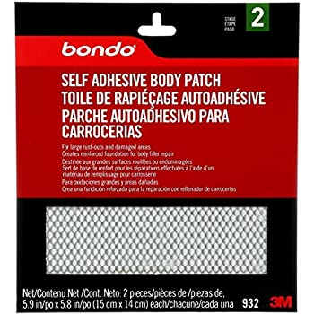 Bondo Self Adhesive Body Patch 00932