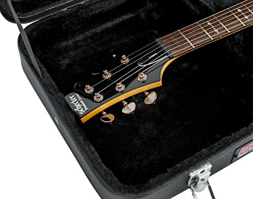 Gator Cases Hard-Shell Wood Case for Standard Electric Guitars; Fits Fender Stratocaster/Telecaster, More (GWE-ELECTRIC) by Gator (Image #5)