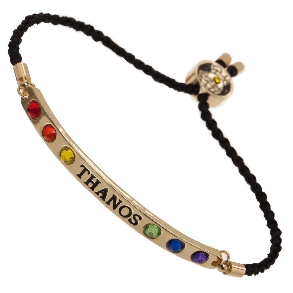 Infinity Stones Bracelet w/Thanos Gauntlet - Avengers Infinity Wars Jewelry