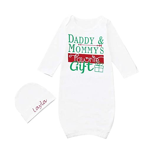 0cba7801df Pajama Letter Print Wrap Sleeping Bag Anti-Kick Nightgown Gown+Hat Set  Outfit for